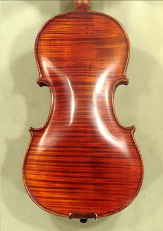 Antiqued 1/2 PROFESSIONAL 'GAMA Super' One Piece Back Violin on sale
