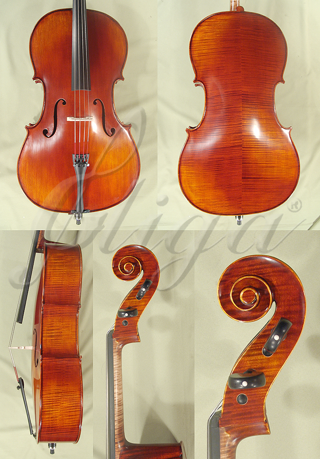 Antiqued 3/4 PROFESSIONAL 'GAMA' Cello
