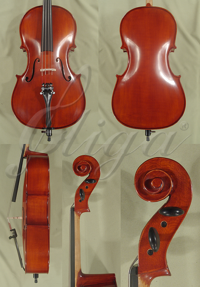 Antiqued 1/4 School 'GENIAL 1-Oil' Cello