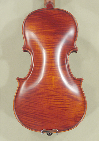 Antiqued 1/8 PROFESSIONAL 'GAMA Super' One Piece Back Violin on sale