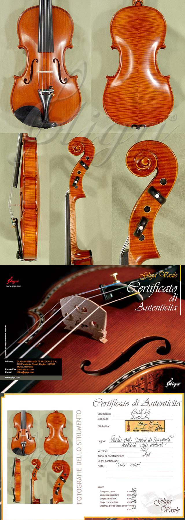 4/4 MAESTRO VASILE GLIGA Five Strings Violin