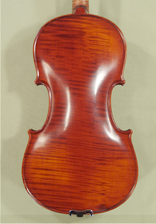 Antiqued 4/4 PROFESSIONAL 'GAMA Super' One Piece Back Violin on sale