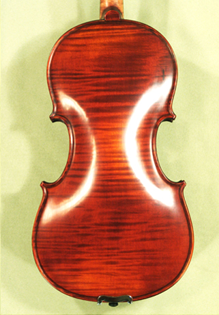 Antiqued 7/8 PROFESSIONAL 'GAMA Super' One Piece Back Violin on sale