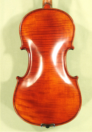 Antiqued 4/4 PROFESSIONAL \'GAMA Super\' Left Handed One Piece Back Violin on sale
