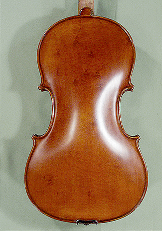 "Antiqued 16.5"" ADVANCED Student 'GEMS 2' Bird's Eye Maple One Piece Back Viola"