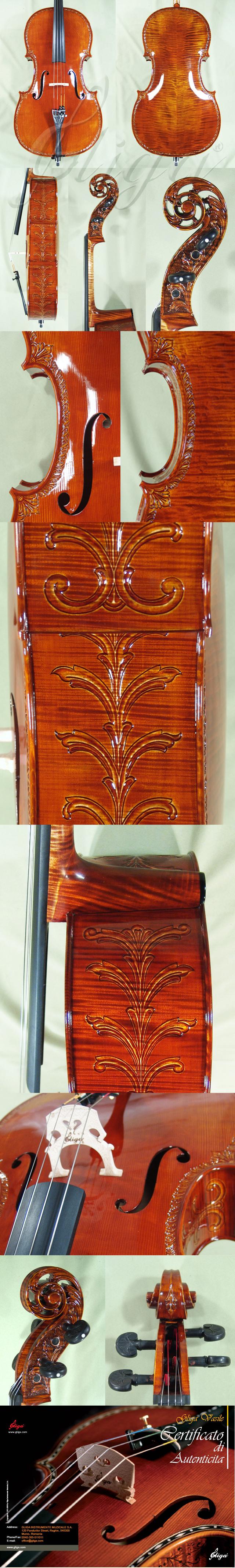 Shiny 4/4 MAESTRO VASILE GLIGA Scroll Cello