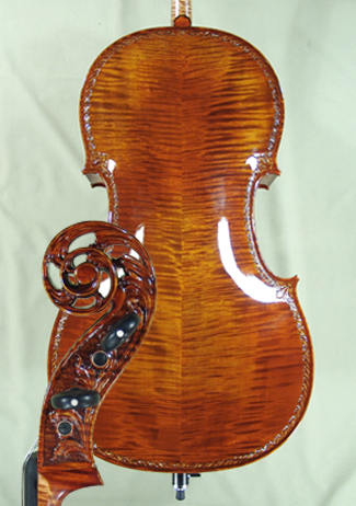 Shiny 4/4 MAESTRO VASILE GLIGA Scroll Cello  on sale