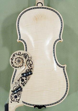 Natur 4/4 MAESTRO VASILE GLIGA Rare Inlaid With Bone and Ebony Purfling Inlay Work Copy of \'Hel on sale