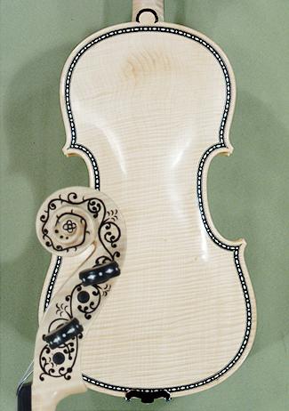 Natur 4/4 MAESTRO VASILE GLIGA Rare Inlaid With Bone and Ebony Purfling Inlay Work Copy of \'Hel on sale