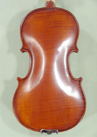 Antiqued 1/2 School \'GENIAL 1-Oil\' One Piece Back Violin on sale