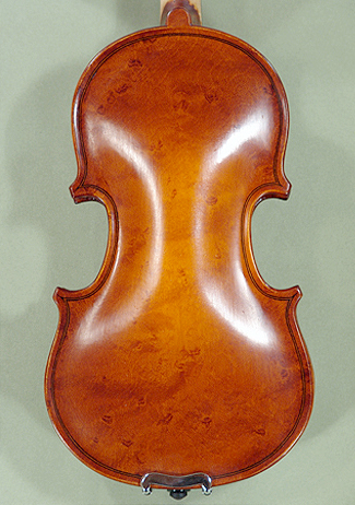 1/16 School 'GENIAL 1-Oil Special' Bird's Eye Maple One Piece Back Violin on sale