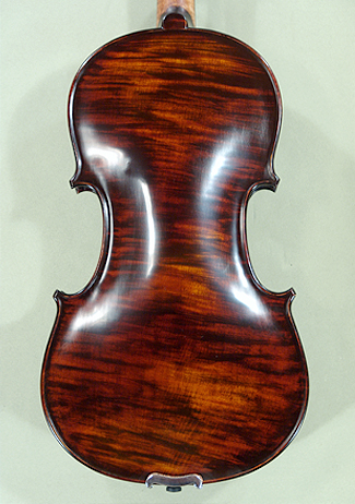 Antiqued stained 4/4 PROFESSIONAL \'GAMA Super\' One Piece Back Violin on sale