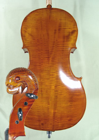 4/4 MAESTRO VASILE GLIGA Tyrolean Lion Scroll 'Tyrolean' Scroll Cello on sale