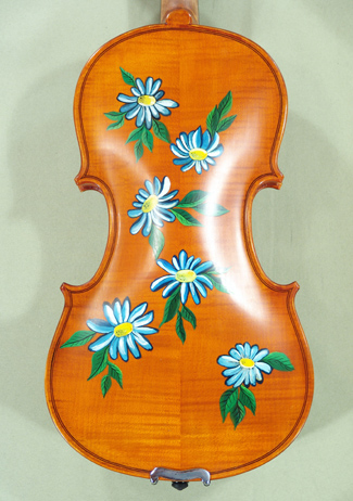 3/4 WORKSHOP \'GEMS 1\' Painted Flowers Violin on sale