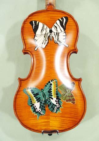 1/2 WORKSHOP \'GEMS 1\' Painted Butterflies Violin on sale