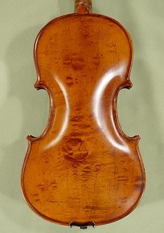 4/4 PROFESSIONAL 'GAMA' Bird's Eye Maple One Piece Back Violin on sale
