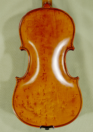 4/4 PROFESSIONAL \'GAMA\' Bird\'s Eye Maple One Piece Back Violin on sale