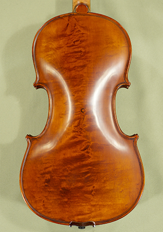Antiqued 4/4 PROFESSIONAL \'GAMA\' Bird\'s Eye Maple One Piece Back Violin  on sale
