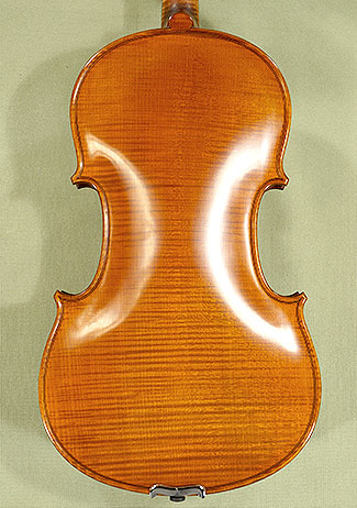 4/4 PROFESSIONAL 'GAMA Super' Left Handed One Piece Back Violin Guarneri Model on sale