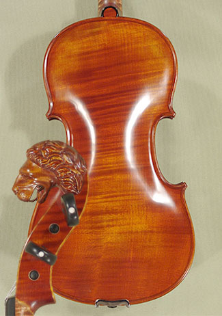 4/4 MAESTRO VASILE GLIGA Lion Scroll 'Lion' Scroll One Piece Back Violin on sale