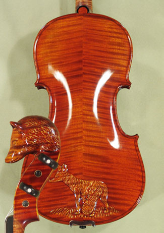 4/4 MAESTRO VASILE GLIGA Fox Scroll and Back 'Fox' Scroll Violin on sale