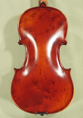 Antiqued 4/4 MAESTRO GLIGA Bird's Eye Maple One Piece Back Violin on sale