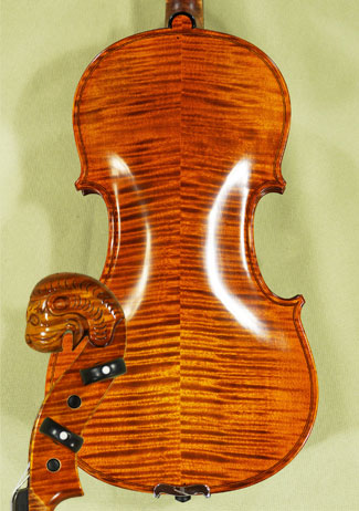 4/4 MAESTRO VASILE GLIGA Tyrolean Lion Scroll 'Tyrolean' Scroll Violin  on sale