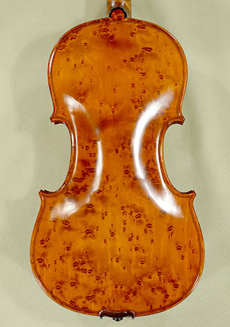 4/4 MAESTRO VASILE GLIGA Left Handed Bird's Eye Maple One Piece Back Violin on sale