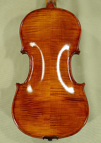Antiqued Spirit Varnish 4/4 PROFESSIONAL 'GAMA' Violin - 'Feel the Grain!' on sale