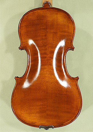Antiqued Spirit Varnish 4/4 School 'GENIAL 1-Oil Special' Violin - 'Feel the Grain!'  on sale