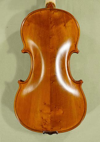 Antiqued 4/4 School \'GENIAL 1-Oil Special\' Bird\'s Eye Maple Violin on sale