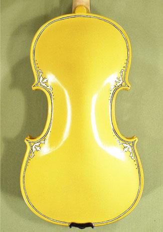 4/4 ADVANCED Student 'GEMS 2' Painted Golden Arabesque Violin on sale
