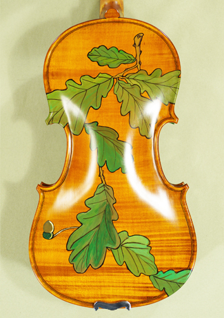 3/4 WORKSHOP 'GEMS 1' Painted Leaves Violin on sale