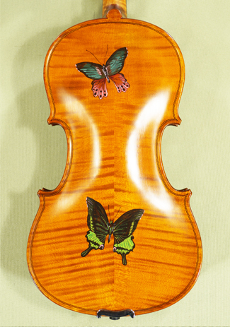3/4 WORKSHOP 'GEMS 1' Painted Butterflies Violin on sale