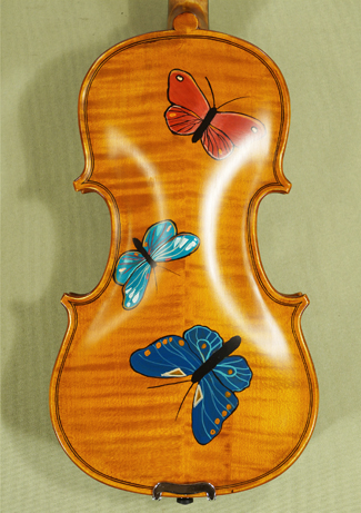 1/8 WORKSHOP \'GEMS 1\' Painted Butterflies Violin on sale