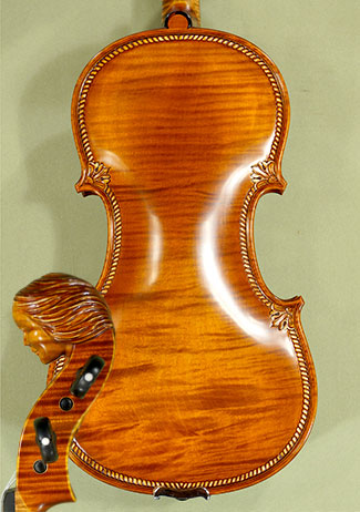 4/4 MAESTRO VASILE GLIGA Girl Scroll with Grain on Top and Back One Piece Back Violin on sale