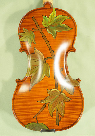 4/4 WORKSHOP 'GEMS 1' Painted Leaves Violin on sale