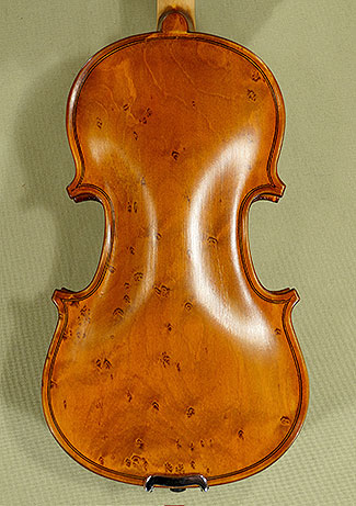 1/10 School \'GENIAL 1-Oil Special\' Bird\'s Eye Maple One Piece Back Violin on sale