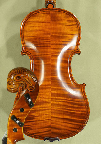 4/4 MAESTRO VASILE GLIGA Inlaid Double Purfling Relief Wood Carving \'Tyrolean\' Scroll Violin on sale