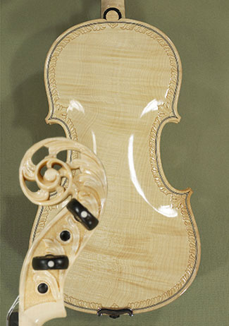 Wood Color 4/4 MAESTRO VASILE GLIGA One Piece Back Violin  on sale