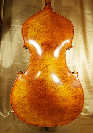 Antiqued 3/4 MAESTRO GLIGA Densely Bird\'s Eye Maple Double-Bass on sale