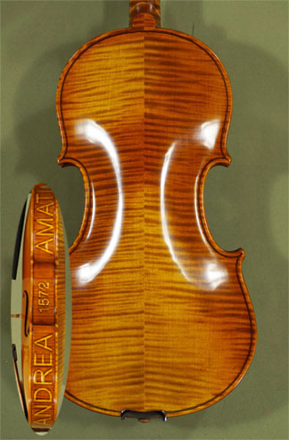 4/4 MAESTRO VASILE GLIGA Andrea Amati 1572 Violin - Copy of \'Amati 1572\' on sale
