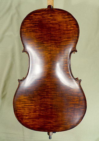 Stained Antiqued 3/4 ADVANCED Student \'GEMS 2\' Cello on sale