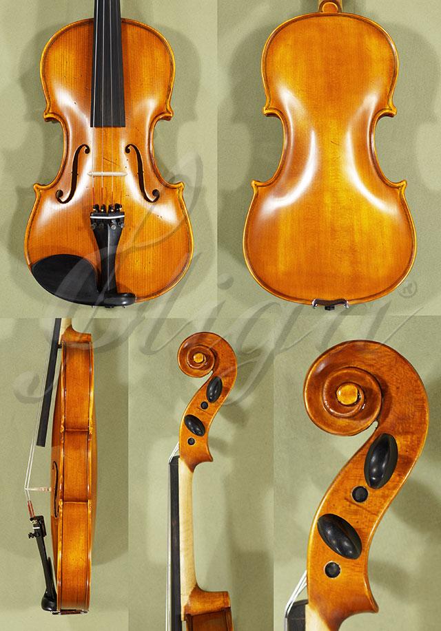 Antiqued 4/4 School 'GENIAL 1-Oil' 'Scratches' Violin