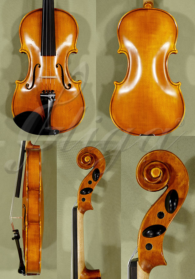 Antiqued 4/4 School 'GENIAL 1-Oil' 'Scratches' Violin