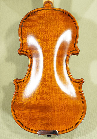 Antiqued 1/32 School \'GENIAL 1-Oil\' One Piece Back Violin on sale