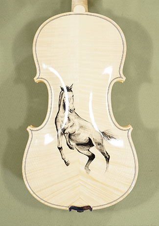 Wood Color 4/4 PROFESSIONAL \'GAMA\' Horse Violin on sale