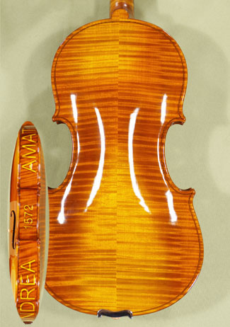 Shiny 4/4 MAESTRO VASILE GLIGA Violin - Copy of \'Amati 1572\'  on sale