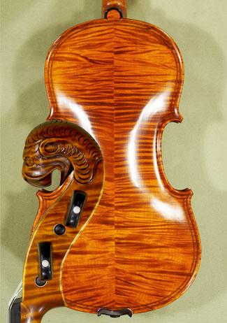 4/4 MAESTRO VASILE GLIGA Inlaid Double Purfling Tyrolean Lion Scroll \'Tyrolean\' Scroll Violin on sale