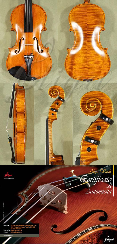 4/4 MAESTRO VASILE GLIGA Violin 'Guarnieri SUA' Model